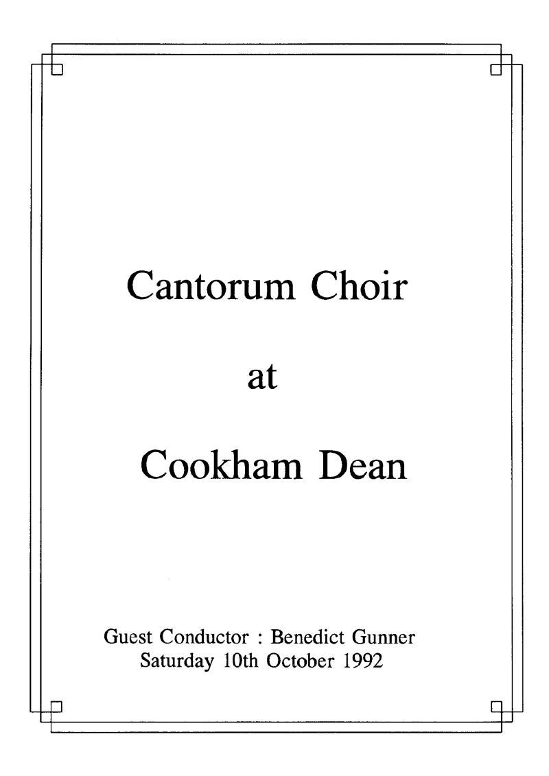 1992-October-Concert