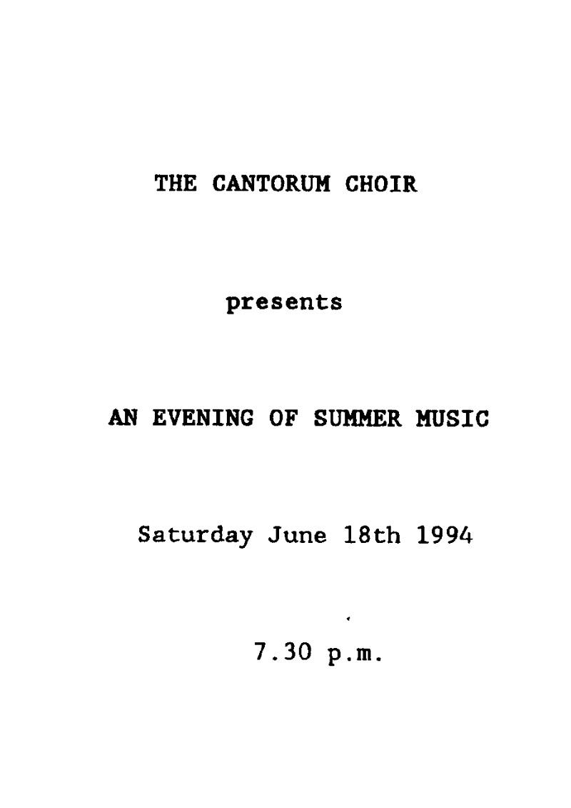 1994-Summer-Music