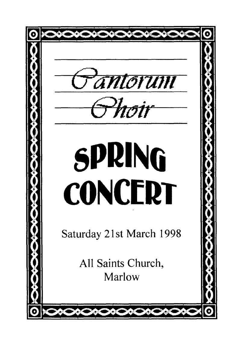 1998-Spring-Concert