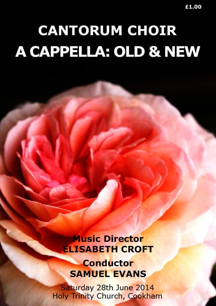 Acappella-programme1