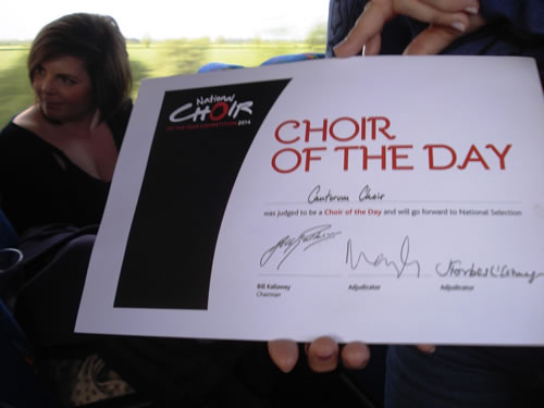 Choir of the Year auditions in Warwick